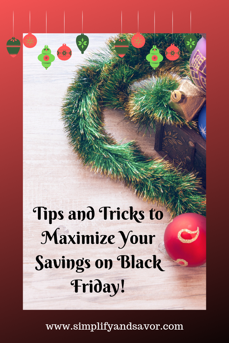 Tips and Tricks to Maximize Your Savings on Black Friday #SaveMoney #BlackFriday