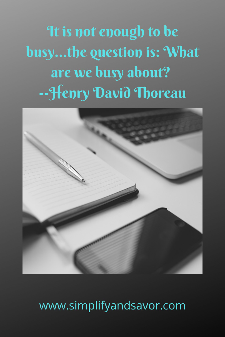 It is not enough to be busy, the question is what are we busy about. #motivation #quotes #inspire #inspirationalquotes