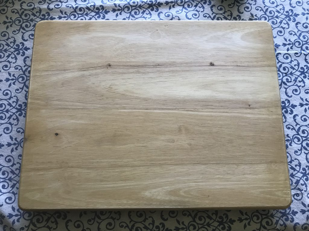 Transform this TV tray into a coffee bar sign. Go to www.simplifyandsavor.com to see how.