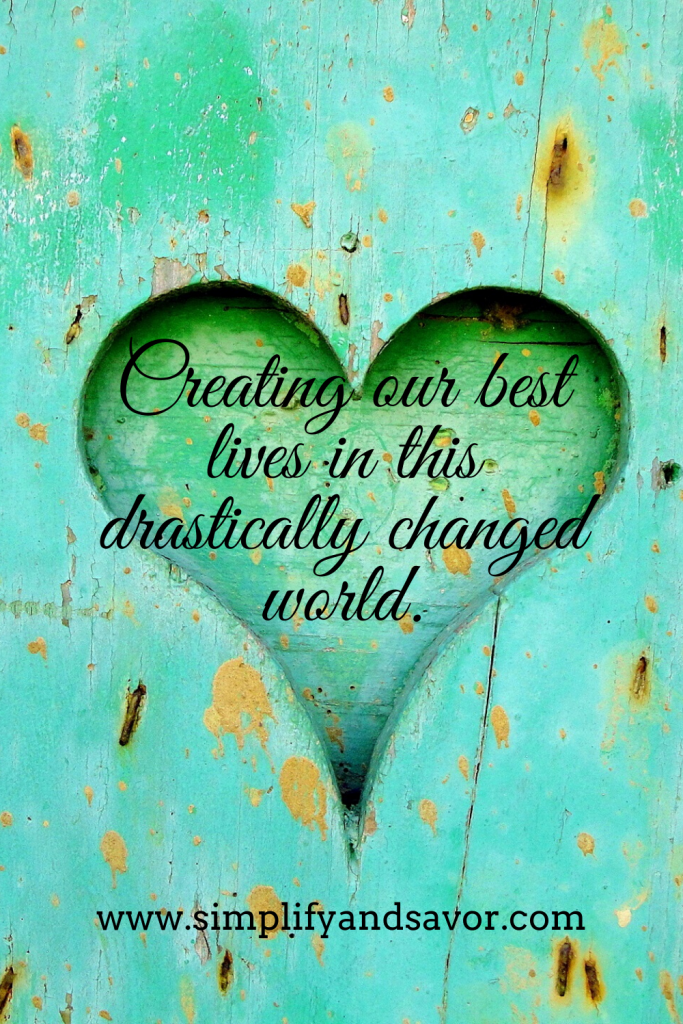 Creating our best lives in this drastically changed world. #encouragement #pandemicplanning #emergencyplanning #inspiration #selfsustaining