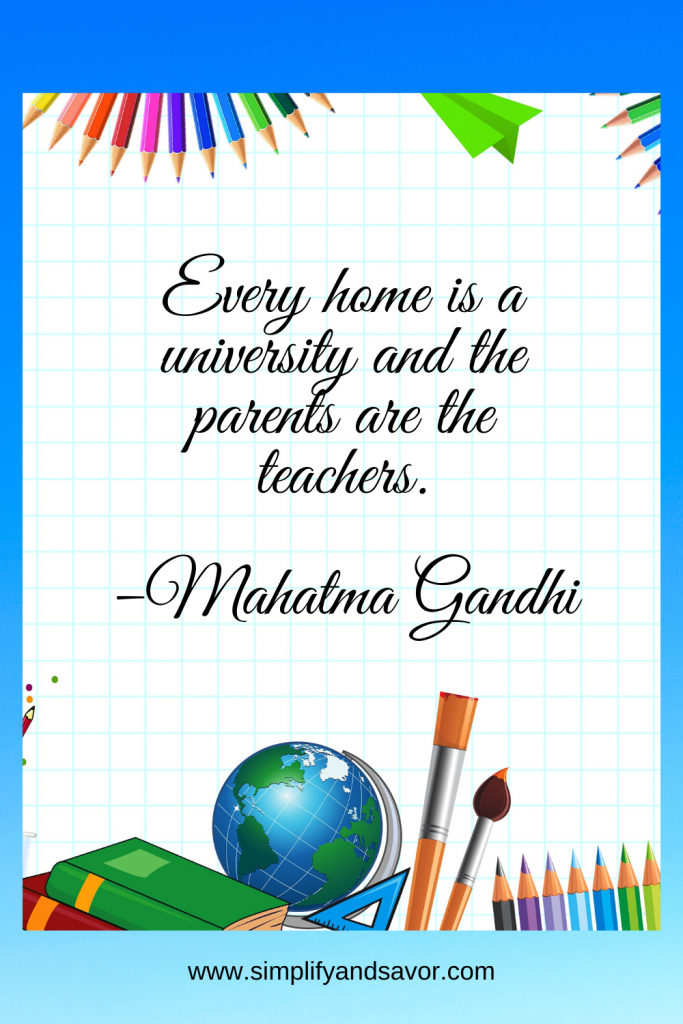 Every home is a university and the parents are the teachers. –Mahatma Gandhi #wordsofencouragement #inspirationalquotes #inspirational #motivationalquotes #quotes #fathersday #fathersdayquotes #dad