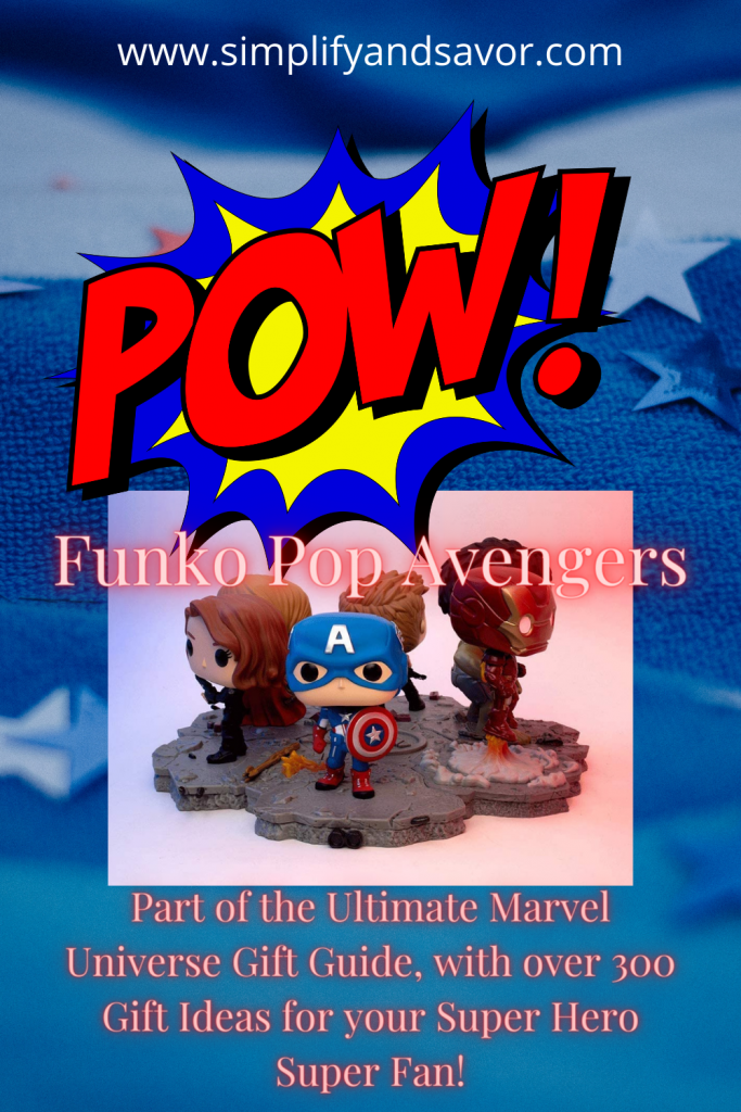 This image is of Funko Pop toys as Avengers. The section is particularly for the Funko figures of Avengers.
