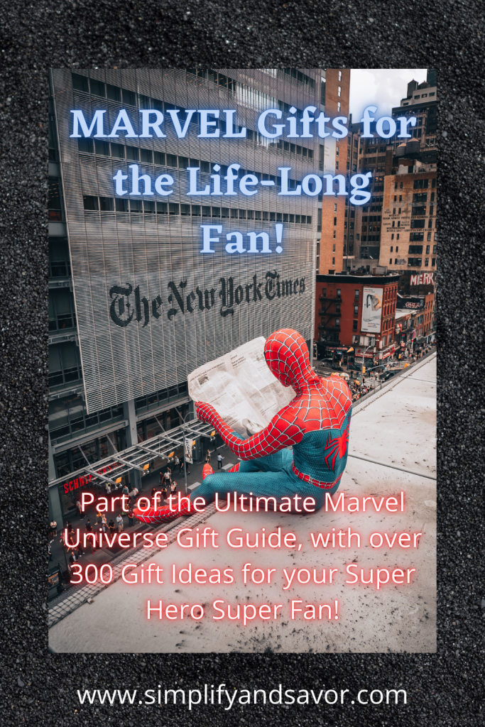 Section image, Marvel Gifts for the Life Long Fan!