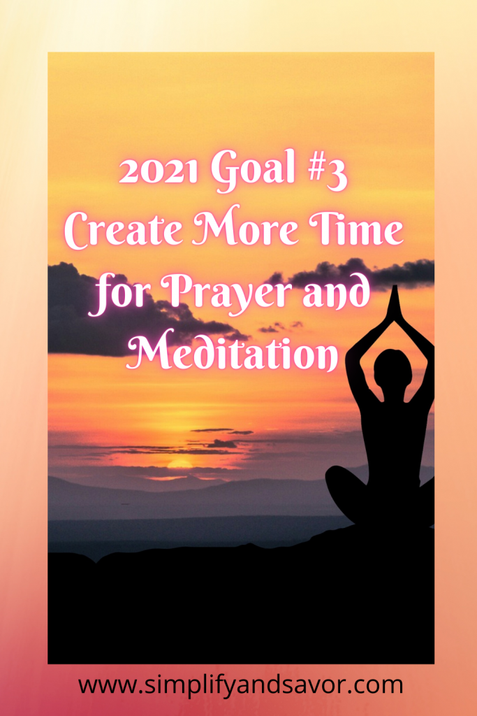 Creating more time for prayer and meditation. For your spiritual health and growth. Join me in my journey to find peace and joy. #meditation #inspiration #relaxation